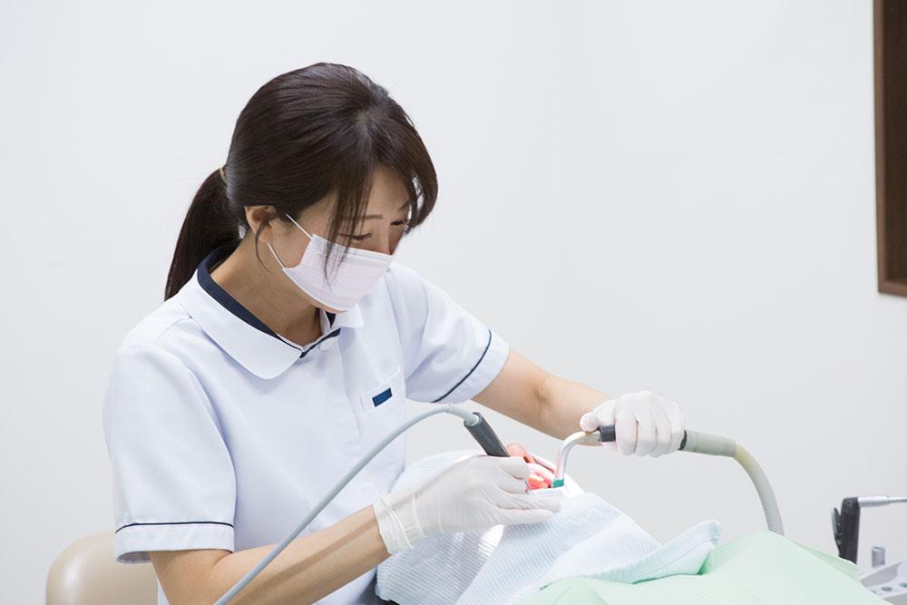 PMTCで虫歯・歯周病予防